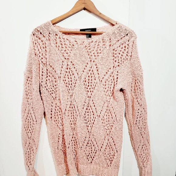 Forever 21 Sweaters - 💜3 for 15💜 Blush pink Forever 21 sweater